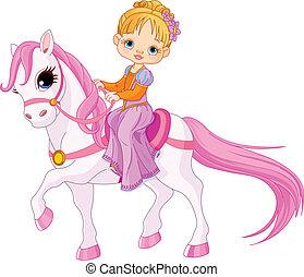 dame, cheval