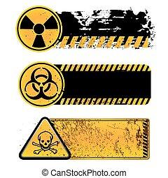 danger, avertissement