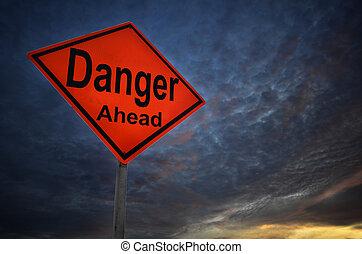 danger, avertissement, panneaux signalisations