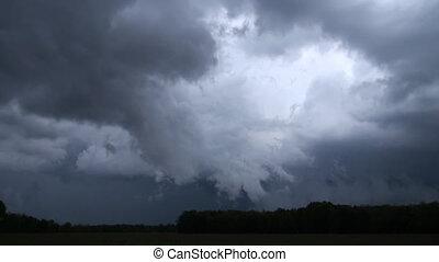 dangereux, orage