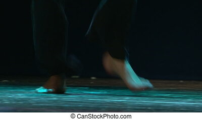 danse, étape