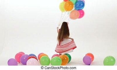 danse, ballons