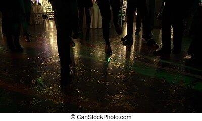 danse, fête, gens
