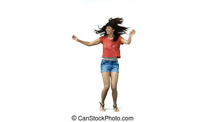 danse femme, ralenti