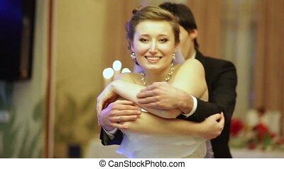 danse, fin, mariage