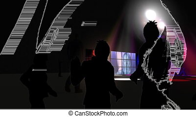 danse, interprètes, jeune