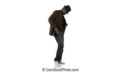 danse, musique, styles, garçon afro-américain, différent