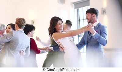 danse, notre, premier, mariage