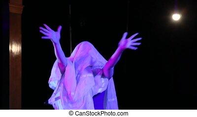 danse, performance, spectral