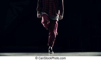 danse, style, moderne