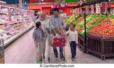 danse, supermarché