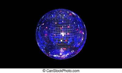 danser balle, 4k, boucle, miroir