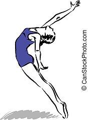 danseur, 2, illustration