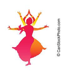 danseurs, indien