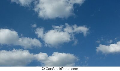 day., nuages, sky.