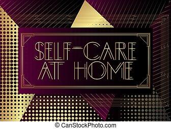 deco, art, maison, text., soi-soigne