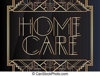 deco, art, soin maison, text.