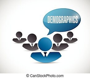 demographics, gens, illustration, signe