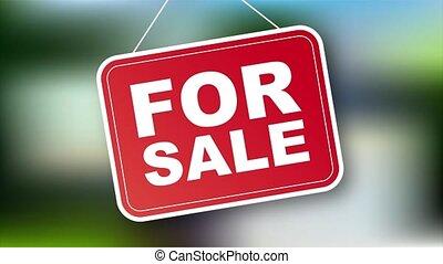 design., commercialisation, tag., vente, illustration., signe, stockage, maison
