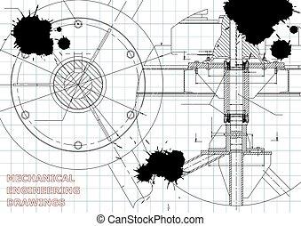 design., technique, mechanics., ingénierie