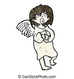 dessin animé, ange