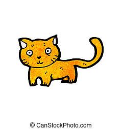 dessin animé, chat