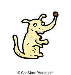 dessin animé, chien