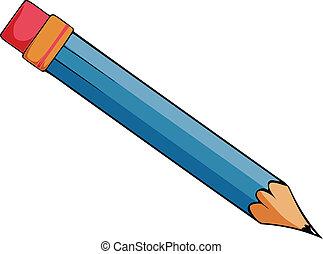 dessin animé, crayon, vecteur
