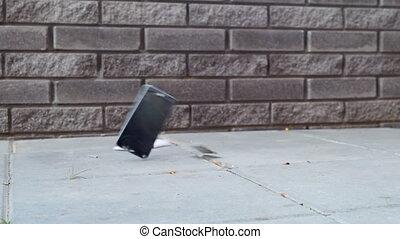 destruction, smartphone