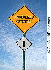 devant, signe, potentiel, poste, motivation, unrealized