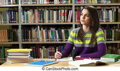devoirs, bibliothèque