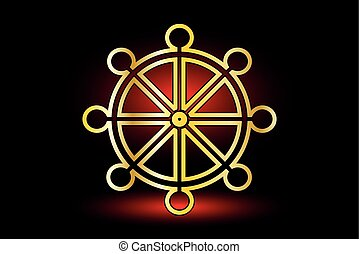 dharma, roue