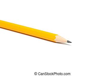 dièse, crayon jaune
