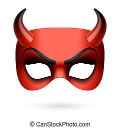 diable, masque