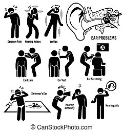 diagnostic, oreille