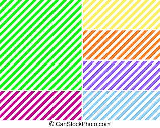 diagonal, fond, rayé