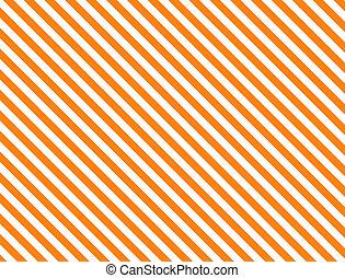diagonal, raie orange