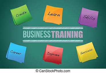 diagramme, formation, graphique, business, coloré