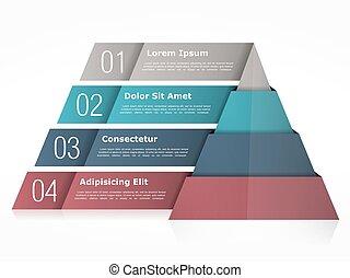 diagramme, pyramide