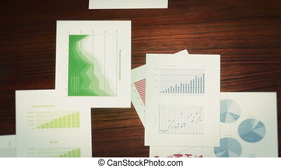 diagrammes, business, infographics