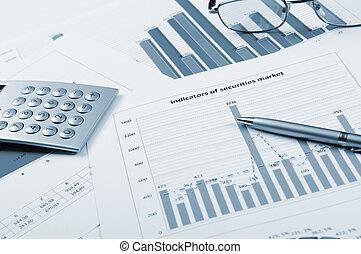 diagrammes, ventes, graphiques