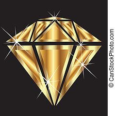 diamant, bling, or
