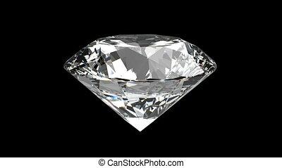 diamant, loopable, tourner