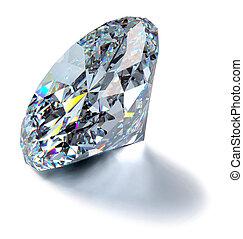 diamant, scintillement
