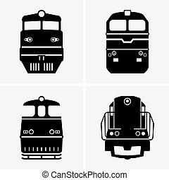diesel, locomotives