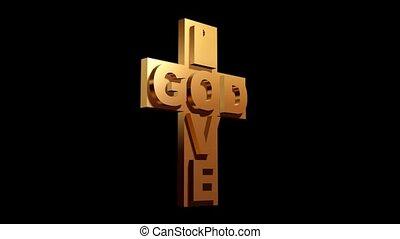 dieu, amour, croix