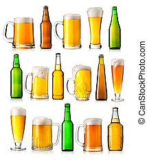 différent, ensemble, bière