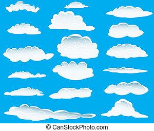différent, nuages