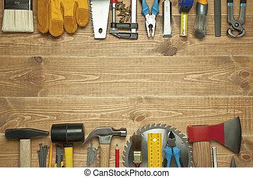 différent, outils