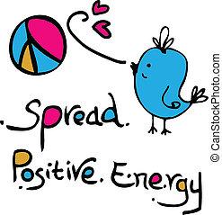 diffusion, positif, énergie